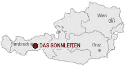 Location of the Hotel Sonnleiten